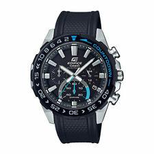 Casio Edifice Solar-Powered Chronograph Black Resin EFSS550PB-1A EFS-S550PB-1A