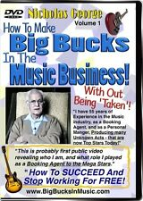 How To Make BIG BUCKS, With BIG BOOKINGS, for MUSICIANS, In The Music Business!