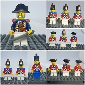 Lego Minifigur Imperial Soldier Officer Governor Guard Pirates Piraten Insulaner