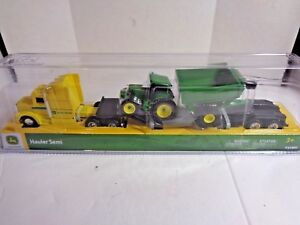 John Deere Hauler Semi with Tractor and Trailer in 1/64 Scale by Tomy