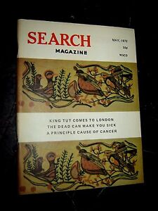 Search Magazine #103~1972  ufonauts astrology UFO's paranormal Occult