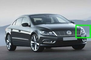 Volkswagen CC 2013 New Left Side Front Lens Cover for Headlight + Glue