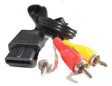 Nintendo Gamecube Composite Av Audio Video Cable de plomo 1.8 metros del Reino Unido Vendedor