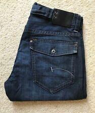 Mens G-Star 3301 blue Denim Jeans W 33 L 32
