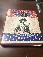US Scotts Minuteman Stamp Album 1847-1990 (SOME PRE 1900 STAMPS) Remainder Album
