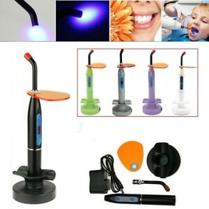 Dental 5W Wireless Cordless LED Curing Light Lamp Machine 2000MW