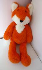 """Laura Ashley Orange White Fox Soft Plush Toy 14"""""""