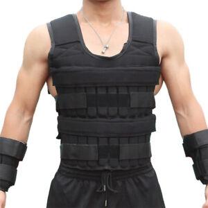 15kg Loading Weight Vest Running Fitness Training Exercise Waistcoat Adjustable