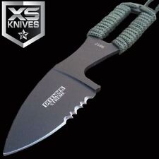 "5"" Xtreme Tactical Black Full Tang Knife Fixed Blade Military W/ Sheath"