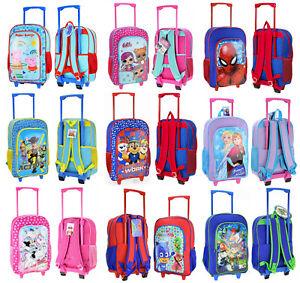 Kindertrolley für Kinder Mädchen Jungen Trolley Rucksack Kindergarten Handgepäck