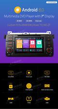 AUTORADIO BMW E46 NAVIGATORE GPS ANDROID 8 WIFI 4G 8CORE 4GB RAM CANBUS DAB DVD