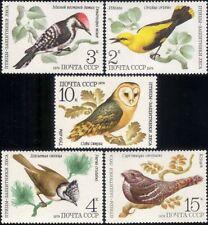 Russia 1979 Owl/Woodpecker/Oriole//Nightjar/Raptor/Birds/Nature 5v set (b6688)