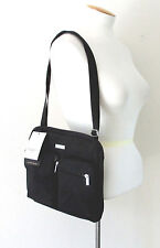 NWT BAGGALLINI Canyon Bagg Crossbody Shoulder Bag Black Travel Pack MCN132BSA