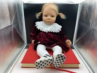 Evelyn Leman Künstlerpuppe Vinyl Puppe 67 cm. Top Zustand