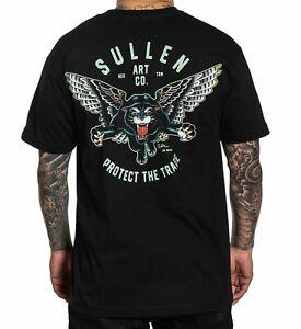 Sullen Blaq Magic Jay Watkins Tattoo Artist Wings Flying Panther T Shirt SCM4450
