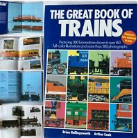 The Great Book of Trains Features 2 Volume Railroad 406 pgs Locomotive SKU043-81