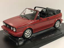 VW Golf Cabriolet 1992 Red 1:18 Scale Norev 188405