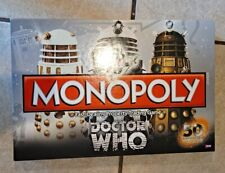 Dr. Who 50th Anniversary Monopoly Board Game Collector's Edition
