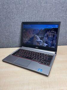 Fujitsu Lifebook E733 Laptop, Intel i5 CPU, 16GB RAM, 320GB HDD, Win 10 Pro
