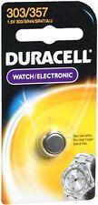 Duracell Silver Oxide Battery Watch/Electronic 1.5 Volt 303/357 1 Each