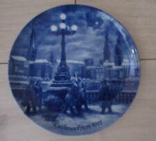 Porzellanteller/Wandteller Weihnachten1977 Hamburg,sehr gut erhalten!Limitiert!