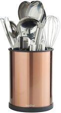 Titular de utensilios de cocina de rotación Cobre