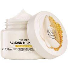 FREE SHIPPING ❤️ The Body Shop Almond Milk & Honey Exfoliating Cream Scrub 250ml