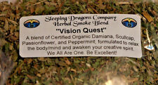 Vision Quest Herbal Smoking Blend, dry herbs, 1 oz. Legal Smoke Natural Herbs