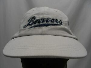 PORTLAND BEAVERS - MINOR LEAGUE - RETRO - YOUTH SIZE US BANK PROMO BALL CAP HAT!