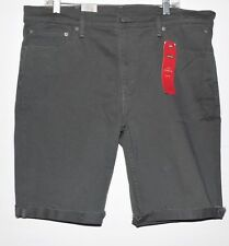 Levi's 511 Men's Slim Cutoff stretch Shorts - size 42 - gray