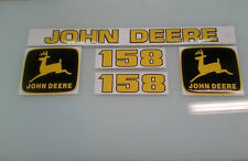 John deere 158 loader decals