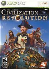 Sid Meier's Civilization Revolution (Microsoft Xbox 360, 2008)