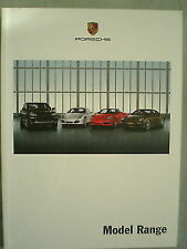 FOLLETO de la gama de modelos de Porsche 2008 de agosto