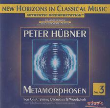 RRR 108 Metamorphosen No. 3 Peter Hübner CD New Horizons in Classical Music