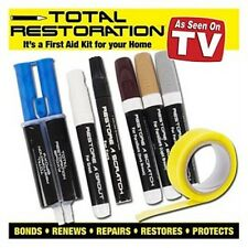 As Seen on TV Total Restoration Kit Restores, Repairs, Bonds, Renews Furniture