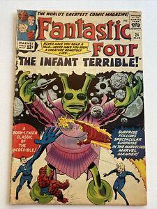 The Fantastic Four #24 Marvel Comics 1964 Jack Kirby & Stan Lee VG