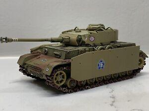 Solido Verem Custom Panzer IV F1 F2 G H Schurzen Tank 1/50 Ww2 Bolt Action Gup