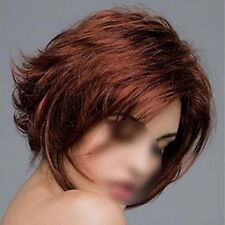 Women New Fashion Natural Short Slightly Curly Hair Synthetic Wigs Cosplay Party