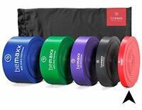 Bande elastiche di resistenza + programma di allenamento – fasce elastiche aiu