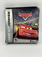 Disney Pixar CARS Nintendo Game Boy Advance With Box And Manual!