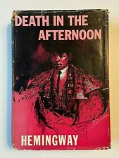 1952 Ernest Hemingway Death in the Afternoon HCDJ Illustrated
