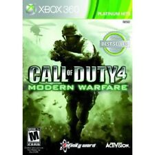 Call Of Duty 4: Modern Warfare Game Of The Year Edition Very Good Xbox 360 5Z