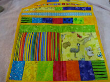 """6 Placemats with Animals from Australia Print 11"""" x 16"""""""