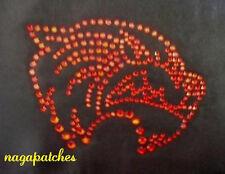 Muster Flockierung / Thermotransfer Strass Tiger Rot DIY Kreation