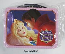 NEW WALT DISNEY SLEEPING BEAUTY MINI LUNCH PALE TIN BOX 50TH ANNIVERSARY LICENSE