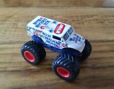 Hot Wheels Monster Jam Die Cast 1:64 Truck Ice Cream Man 1st Edition 2014 HTF
