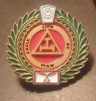 Royal Arch Mason York Rite Freemason Masonic Lapel Pin