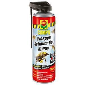 COMPO Wespen Schaum-Gel Spray Wespenabwehr, 500 ml