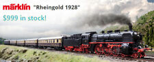 Marklin HO 26928 Rheingold 1928 Train Set MFX+ Interior Lights Smoke&Sound NICE!