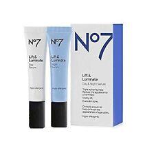 Boots No7 lift & luminate day and night serum duo - 2 x 15ml BOXED